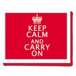 LAPTRAY - TACA NA KOLANA Z PODUSZKĄ - POD LAPTOP, ŚNIADANIE... - Keep Calm And Carry On